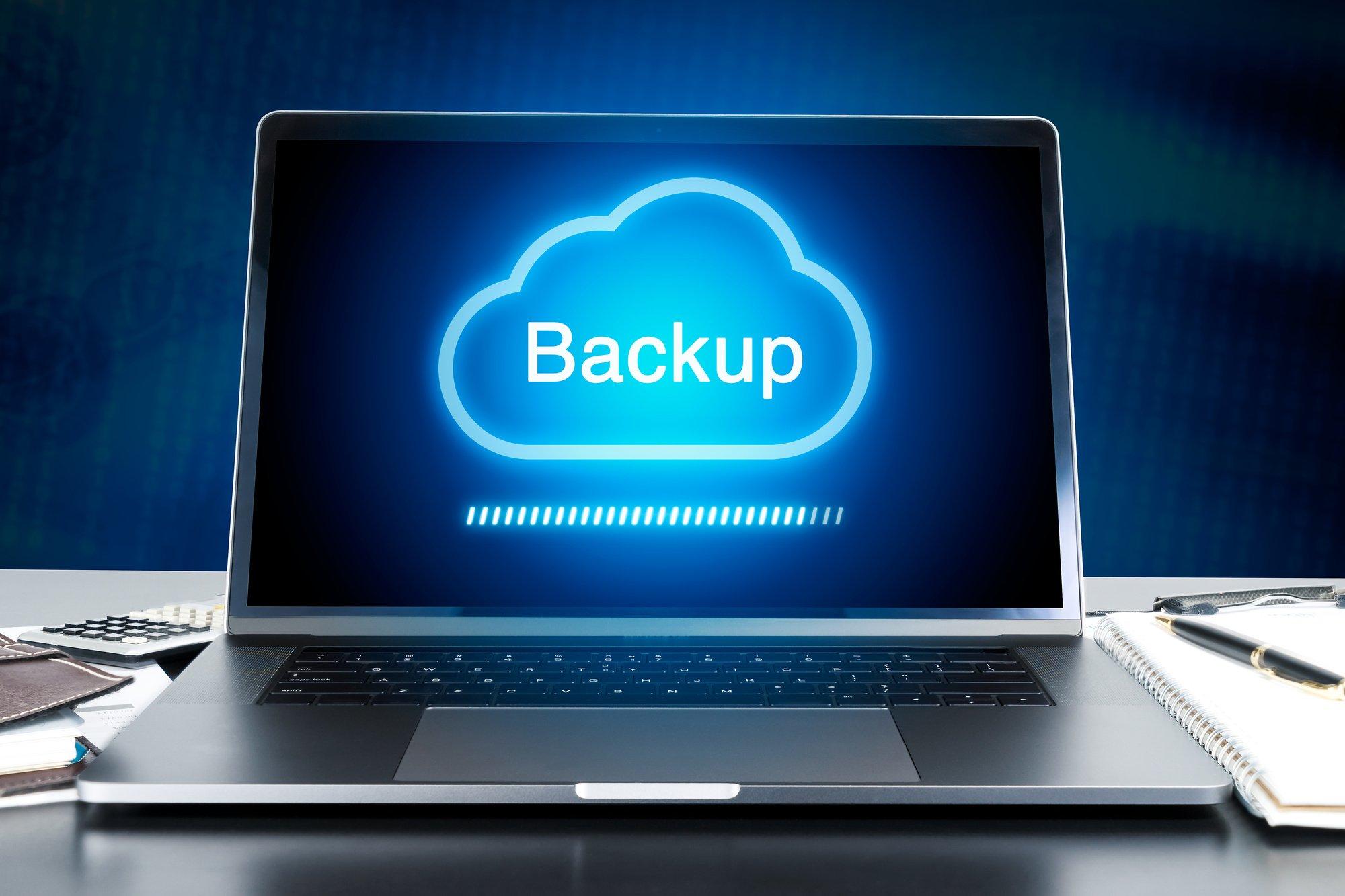 backup a wordpress site