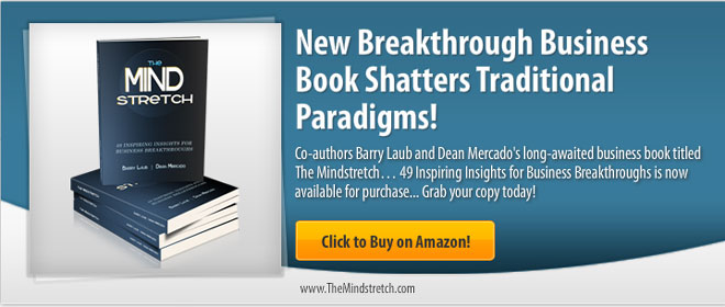 The Mindstretch Book by Dean Mercado and Barry Laub