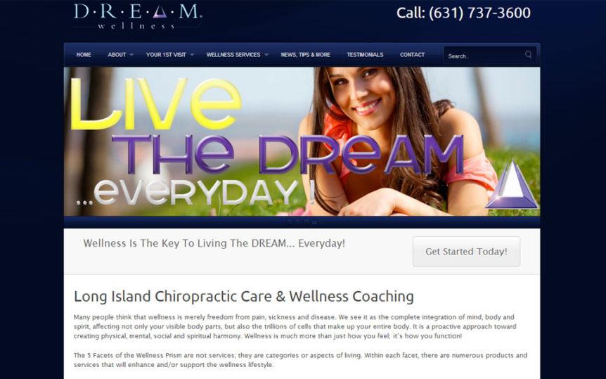 Website Samples by Online Marketing Muscle - DREAM Wellness