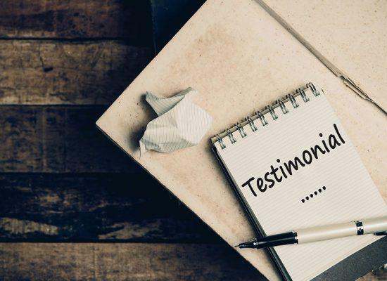 how to write the perfect testimonial